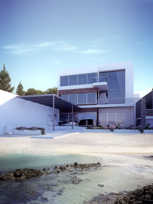 3 Story villa at Amwaj